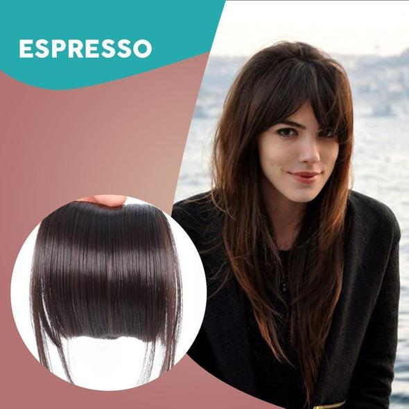 Seamless 3D Clip-In Bangs Hair Extensions✨✨—🔥🔥50%OFF+Buy more save more
