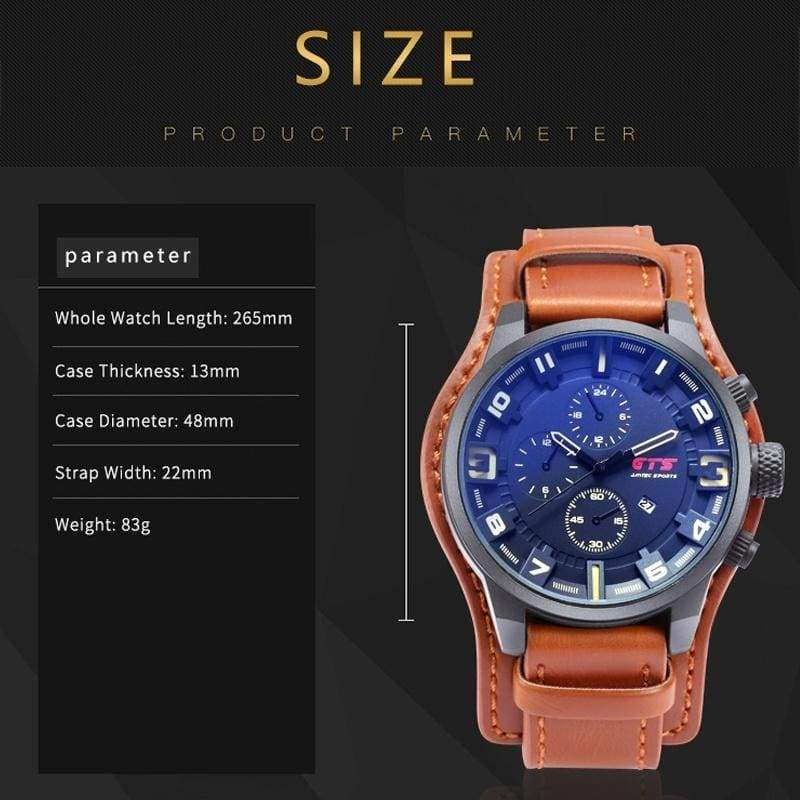 2019 Fashion Watch Special Forces Men's Sports Watch Trend Personality Student Big Dial Quartz Calendar Watch