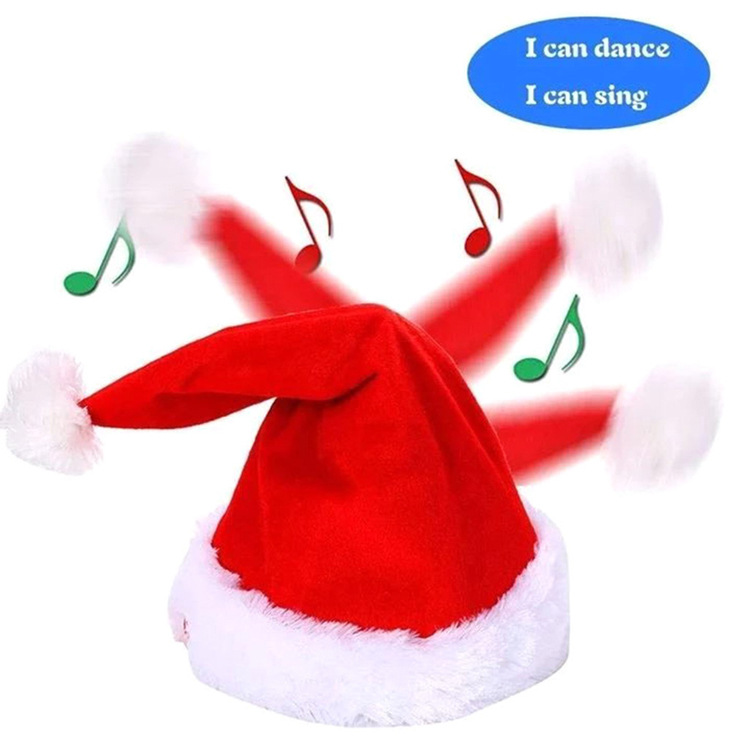 🎄Only $24.99 Buy 2 Get 10% OFF🎄Music Christmas Hat Will Dance