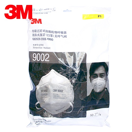 3M KN90 Masks |  9002 Particulate Respirator Nose clip Face Masks 【Limited Supply】