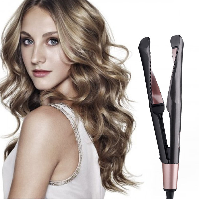 ( Promotion - 60% OFF) 2 in 1 Hair Curler and Straightener