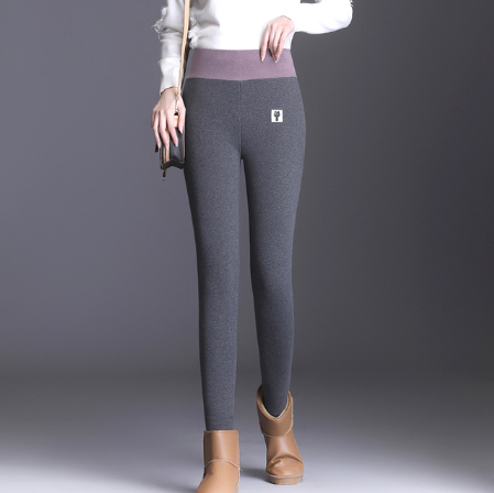 (NEW)Thickened slim cashmere warm pants (2sets freeshipping)