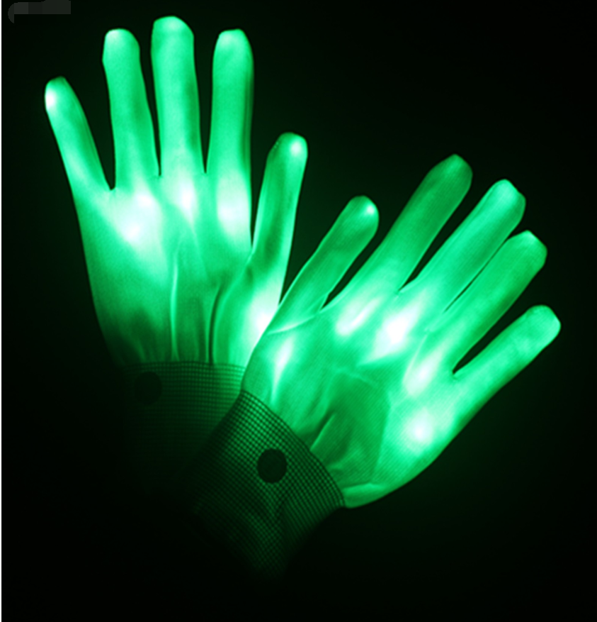 LED Light Glowing Gloves🌈🌈【Buy 2 Get 1 Free&Save 50%OFF】