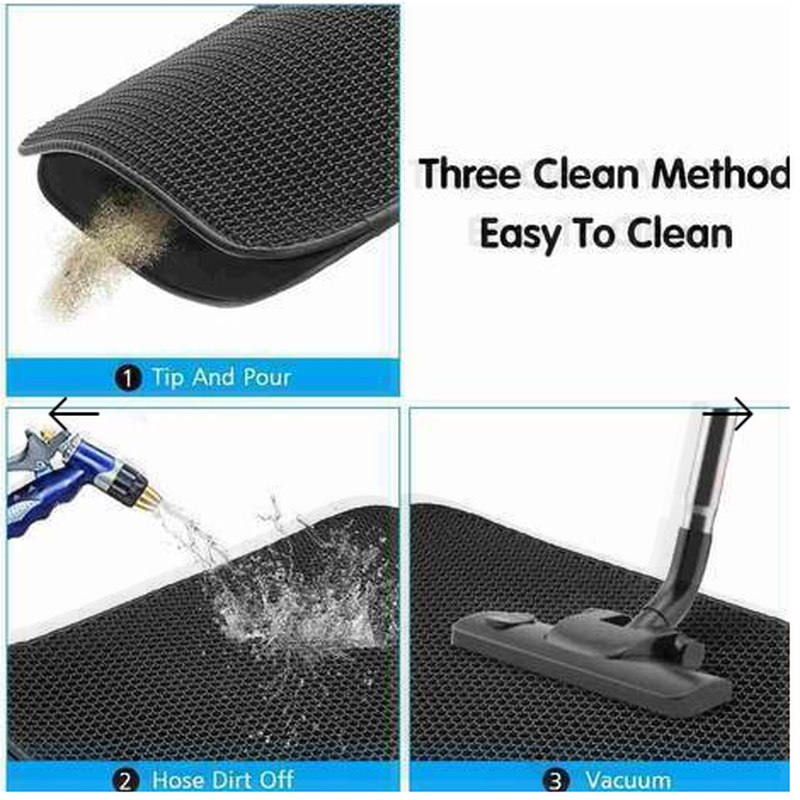 New Double Layer Larger Size Cat Litter Mat📢50% OFF