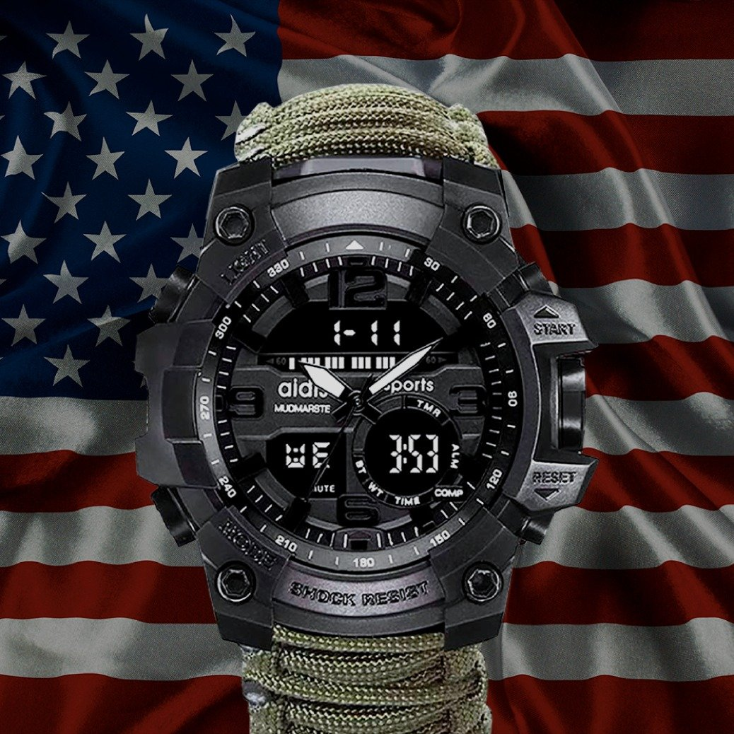 6 In 1 Tactical Watch