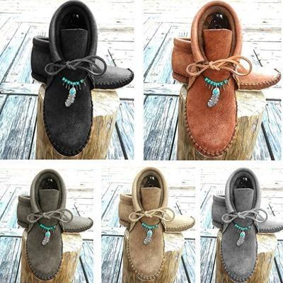 🔥40% OFF TODAY🔥 Cowhide Leather Moccasins