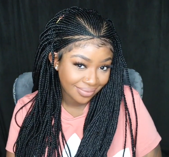 🔥Hot Sale-2020 Hand-Braided Full Lace Box Braid Wig(Buy 2 Get 1 Free ,100 peoples only)
