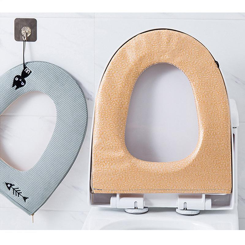 [Buy Two Free Shipping!]New Zipped-toilet Cushion.