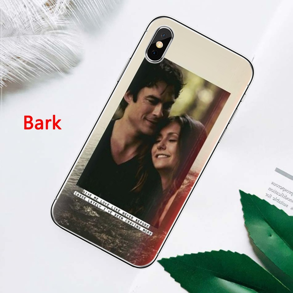 Popular Tv Show The Vampire Diaries Somerhalder Phone Case TPU Covers Coque Concha for IPhone 11 Pro Max 8 Plus 7 Plus 6S 5S SE Plus X XS MAX XR and Samsung Galaxy S6 Edge S7 Edge S8 Plus S9 Plus S10 Plus Note 8 Note 9