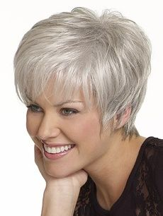 Lace Frontal Wigs For Women Gray Wigs Water Wave Hair With Closure Gray Hair Fashion