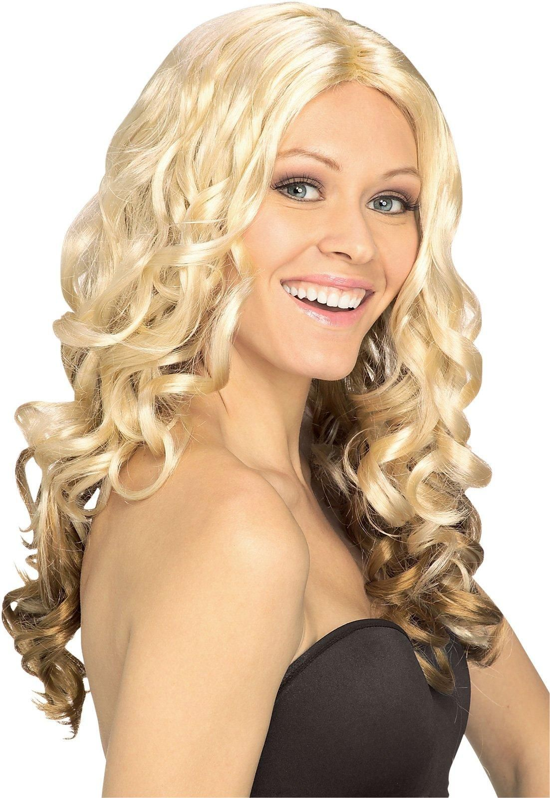 2020 Fashion Ombre Blonde Wigs 613 Curly Full Lace Wig