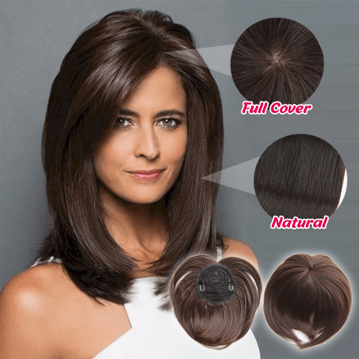 Silky Clip-On Hair Topper(Buy More Save More🔥)