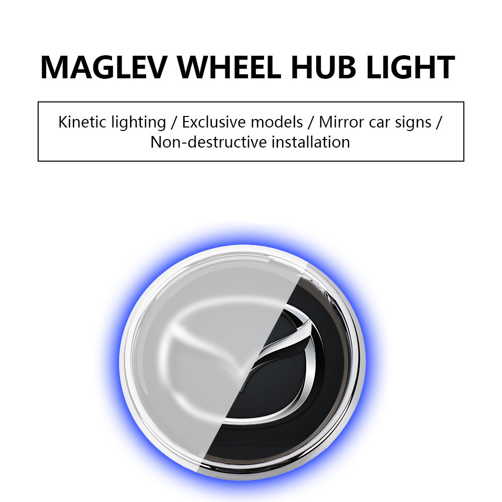 Magnetic Suspension LED Floating Wheel Cap(1 SET SAVE $31&FREE SHIPPING)