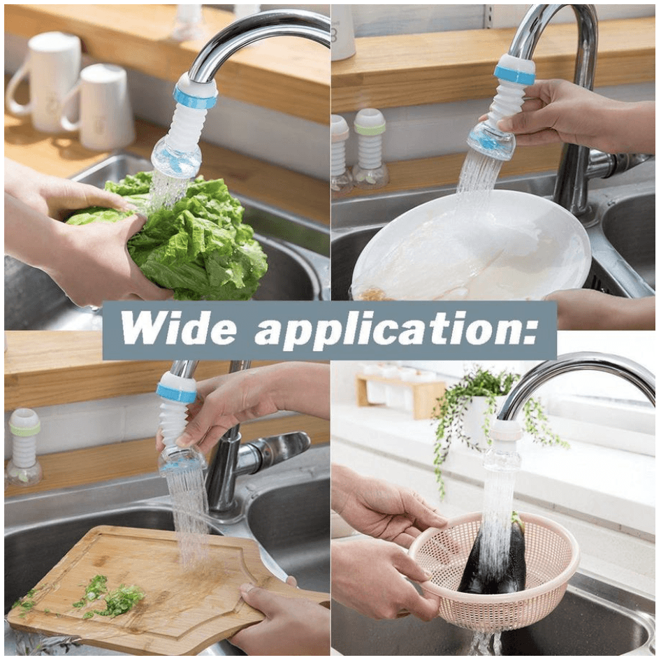 【Buy 1 Get 1 Free Today】Rotatable Water-Saving Faucet Head