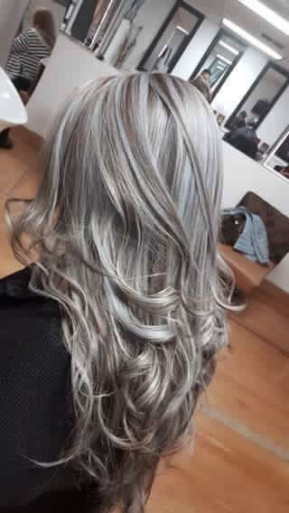 2020 New Gray Hair Wigs For African American Women Madison Wigs Light Gray Hair Color Gray And Black Human Hair Wigs Mrs Claus Wig Highlights To Cover Gray Hair