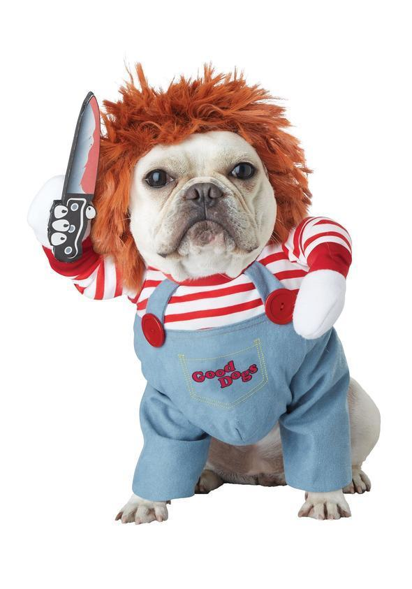 Furry Deadly Doll Dog Costume