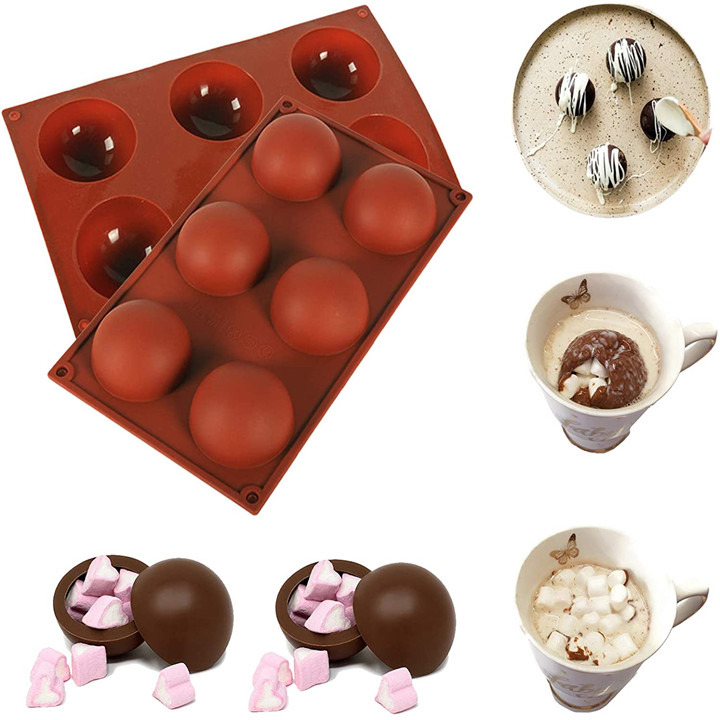 Chocolate Bombs Making Mold | Hemisphere Cake Mold 🎅【Christmas special】
