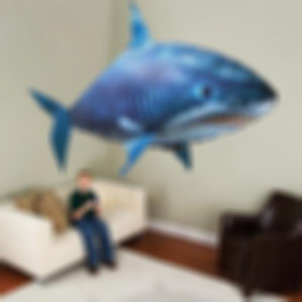 AHOME7 - Air Flying Shark Fish Swimmer & Clownfish Remote Control Toys for Children (Restore the original price tomorrow)