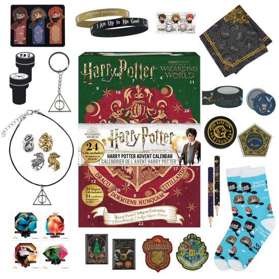 Harry Potter: Christmas In The Wizarding World Advent Calendar. GREEN BOOK