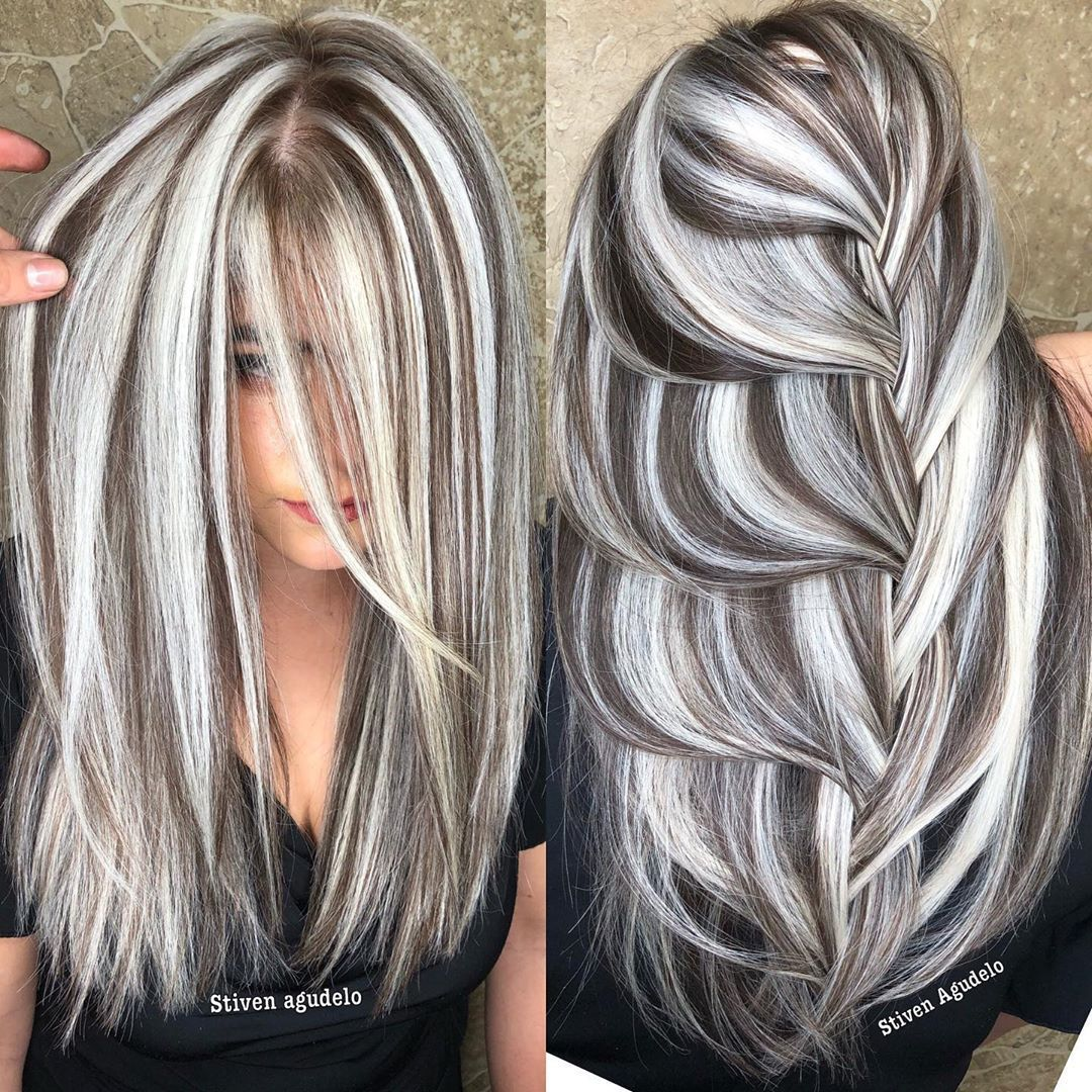 2020 New Gray Hair Wigs For African American Women Mens Grey Hair Treatment Gray Braids Large Gray Wigs Best Gel For Gray Hair Soul Tress Wigs