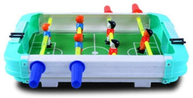 NUOBESTY Mini Table Top Football Table Football Board Machine Game Home Match Gift Toy for Child