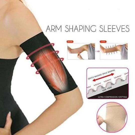 Arm Slimming Shaper Wrap, Arm Compression Sleeve Women Weight Loss Upper Arm Shaper