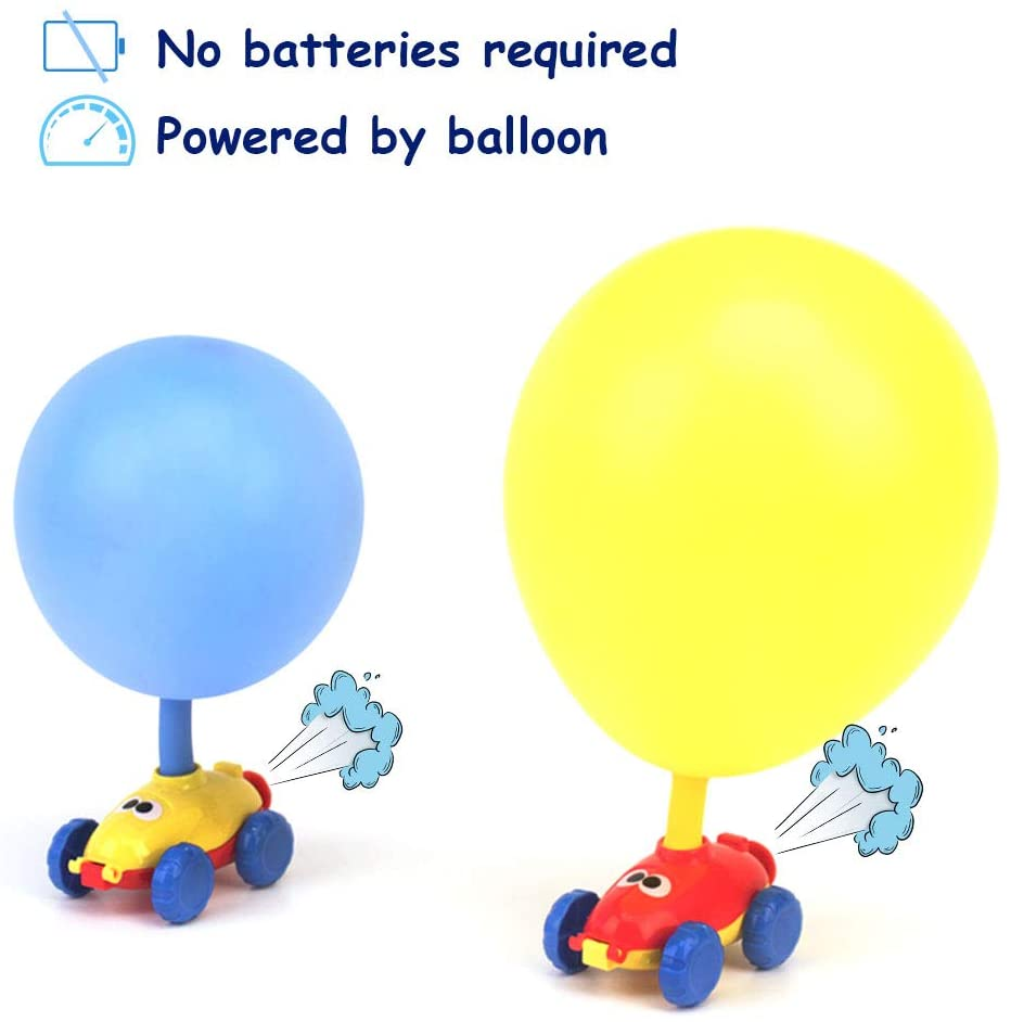 30%OFF-Balloon Launcher & Powered Car Toy Set