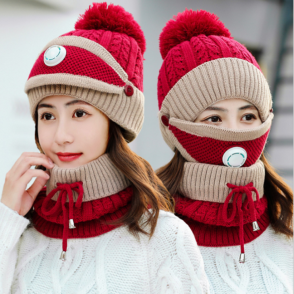 (🎅EARLY XMAS SALE - 50% OFF)Winter Scarf Set & Buy 2 Free Shipping