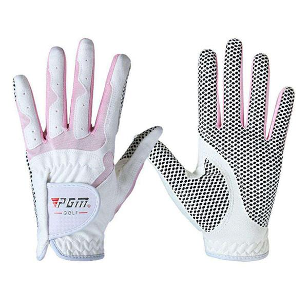 Women's golf non-slip breathable soft sports gloves
