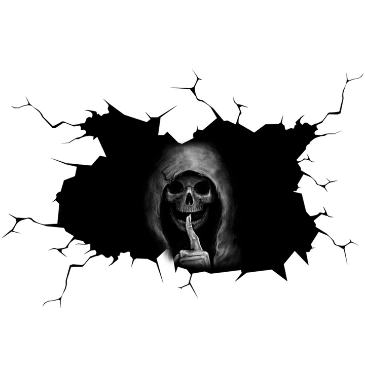 Buy 1 Get 2 Today Only!SILENT SKULL STICKER