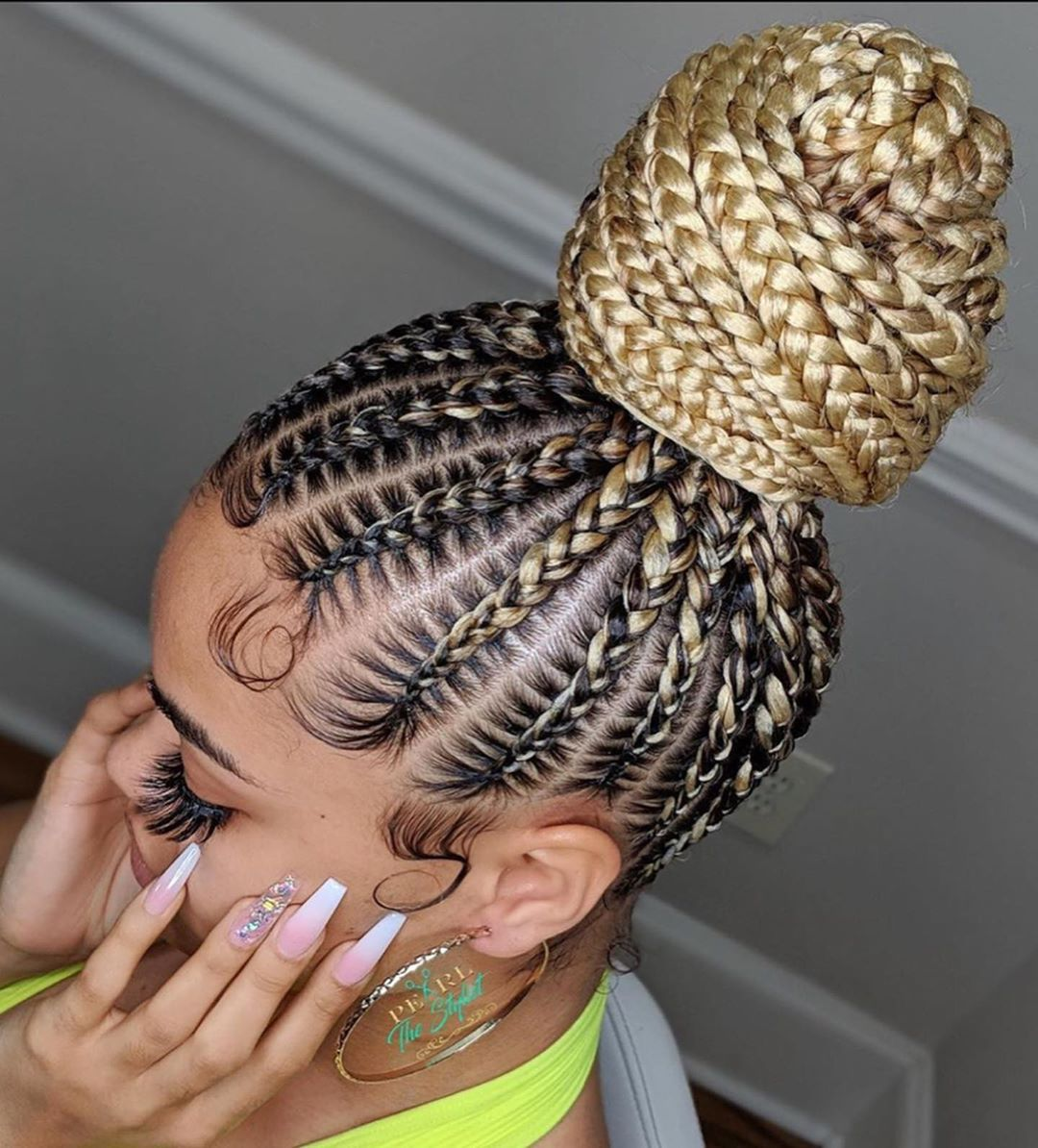 Best Braiding Hairstyles African American Hair 715 Store Hairstyles For Natural Black Hair Unicorn Box Braids Deep Wave Wig