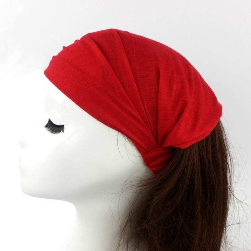 Women Ear Cotton Headband Hairband Headwrap Yoga Hair Band Accessories Turban