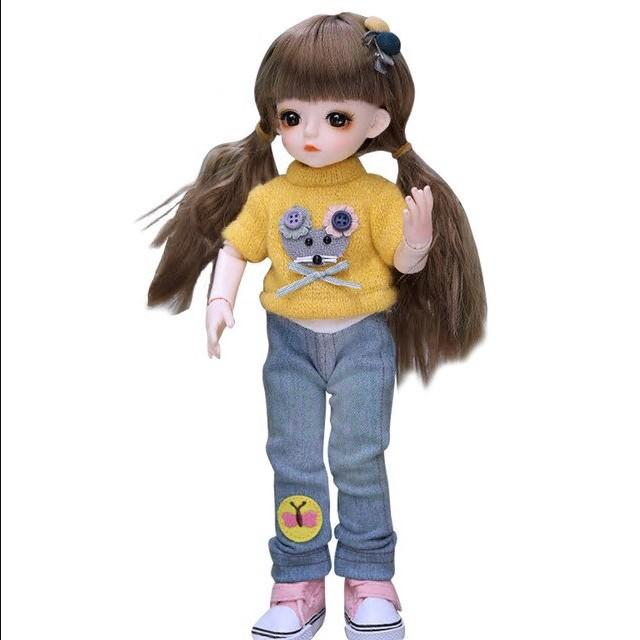 💖Cute dolls💖All parts of the body can move💖