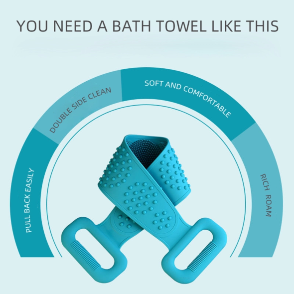 (New Year Sale-50% OFF) Silicone Bath Towel- (Buy 3 get extra 20% off & free shipping)