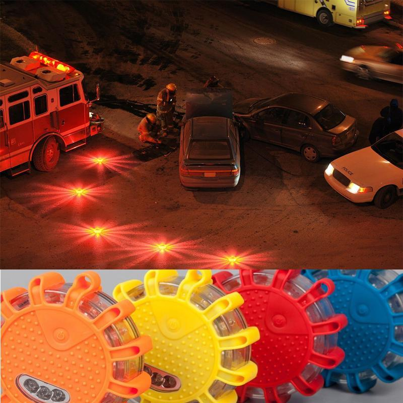 SKRTEN Magnetic LED Flashing Light Road Safety