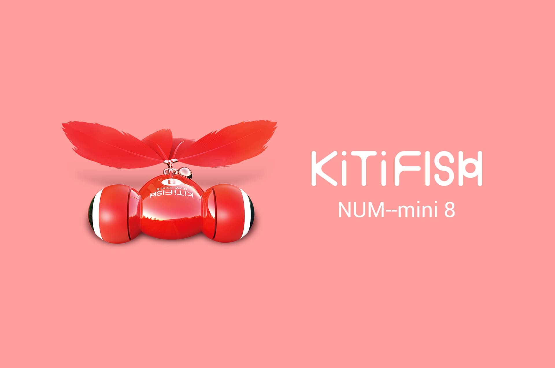 (50% OFF New Arrival Promotion) MAYMAW® KiTiFISH Smart Cat Toy Automatic Flips & Flops Like a Goldfish