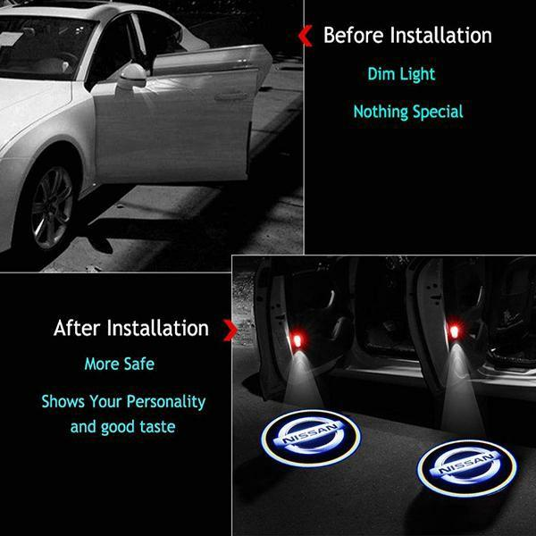 【Christmas Promotion】Universal Wireless Car Door LED Welcome Light(1PCS)