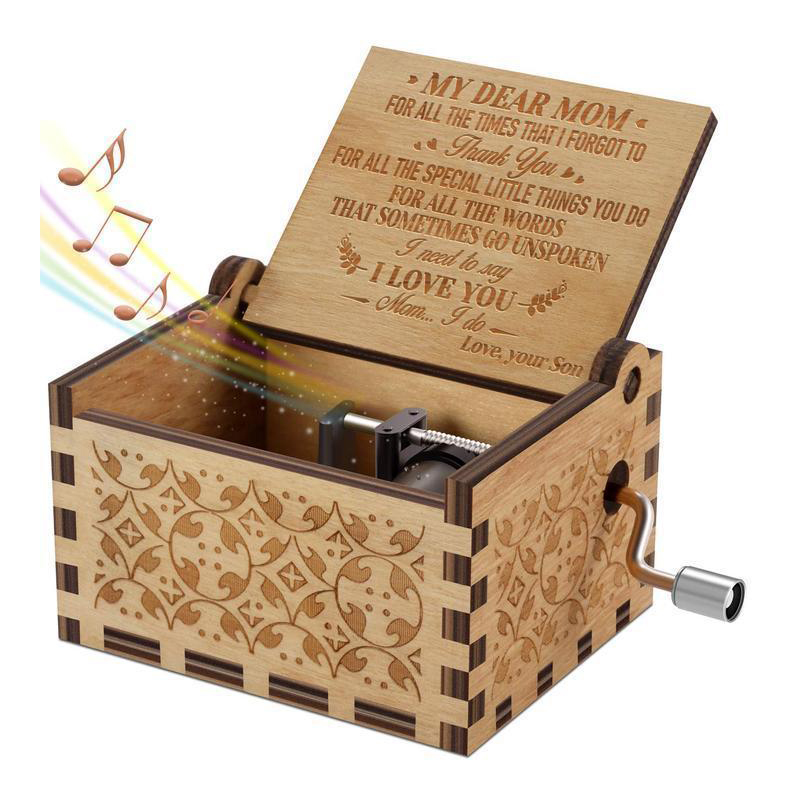 ❤ Mother's Day Sale: LOVE MOM Music Box