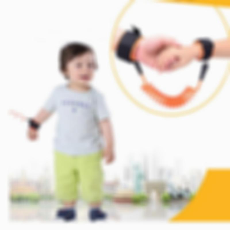 Kisslay Anti Lost Skin Safety Wrist Strap for Toddler/Baby/Child