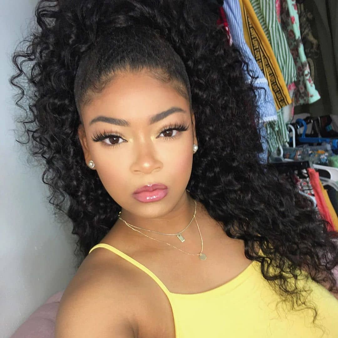 Best Curly Wigs Lace Frontal Wave Wigs Best Place To Buy Wigs Online Colored Brazilian Hair Bundles Nice Curly Hair Lace Frontal Wig Curly