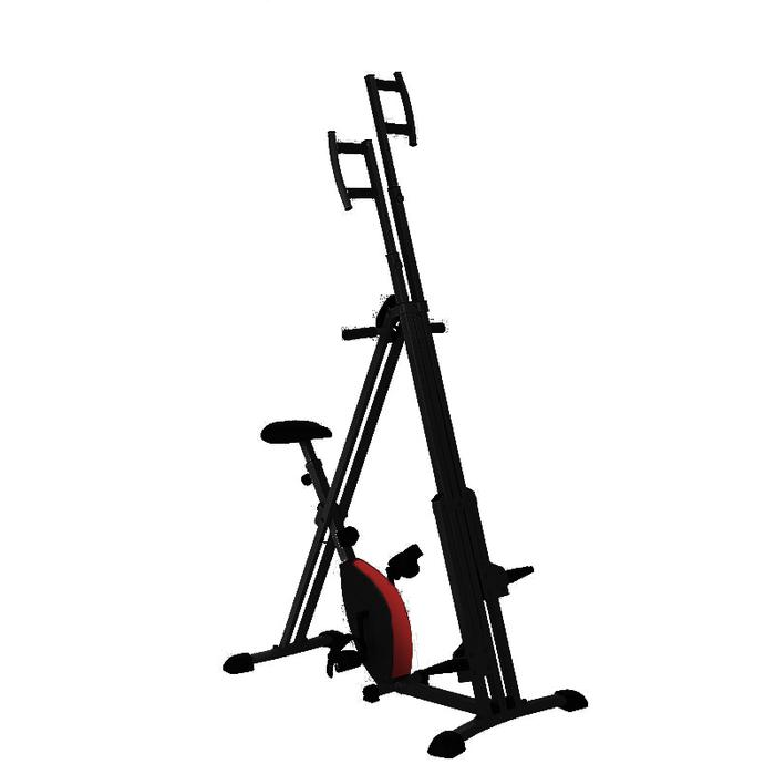 Home Magnetic Bike Two-in-One Rock Climbing Machine Mountain Climbing Machine Mountaineering Machine(OP-CL002)