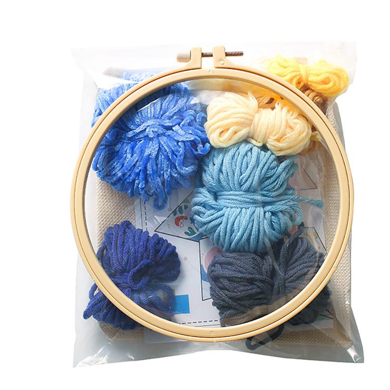 Sky Punch Needle Embroidery Kit