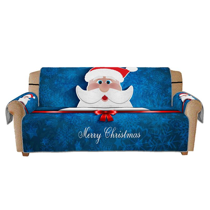 🔥Christmas Santa Claus Pattern Couch Cover🔥
