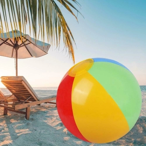 Beach Pool Play Ball Inflatable Children PVC Multicolor Summer Swimming Toy