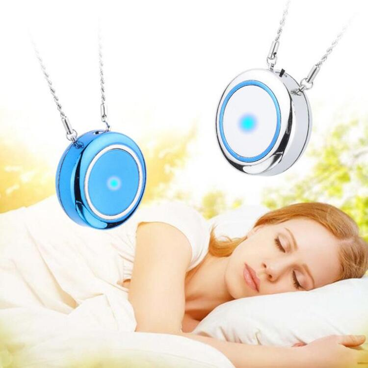 ( The Last Day 40% Off )Portable Mini USB Necklace Air Purifier,stay away from viruses