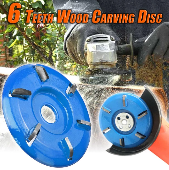 (New Year Promotion- SAVE 50% OFF) Wood Carving Disc That Save Your Time And Effort -Buy 2 Get Extra 10% OFF & Free Shipping