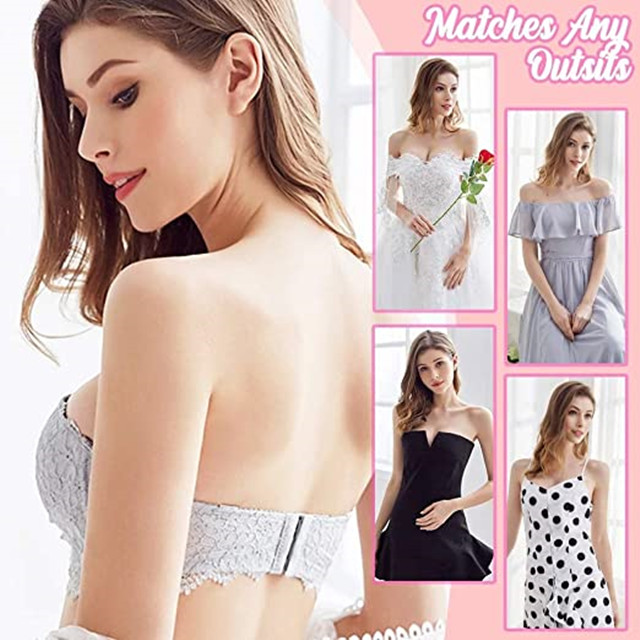 Multi Way Strapless Lace Bras - Buy 2 Save $4