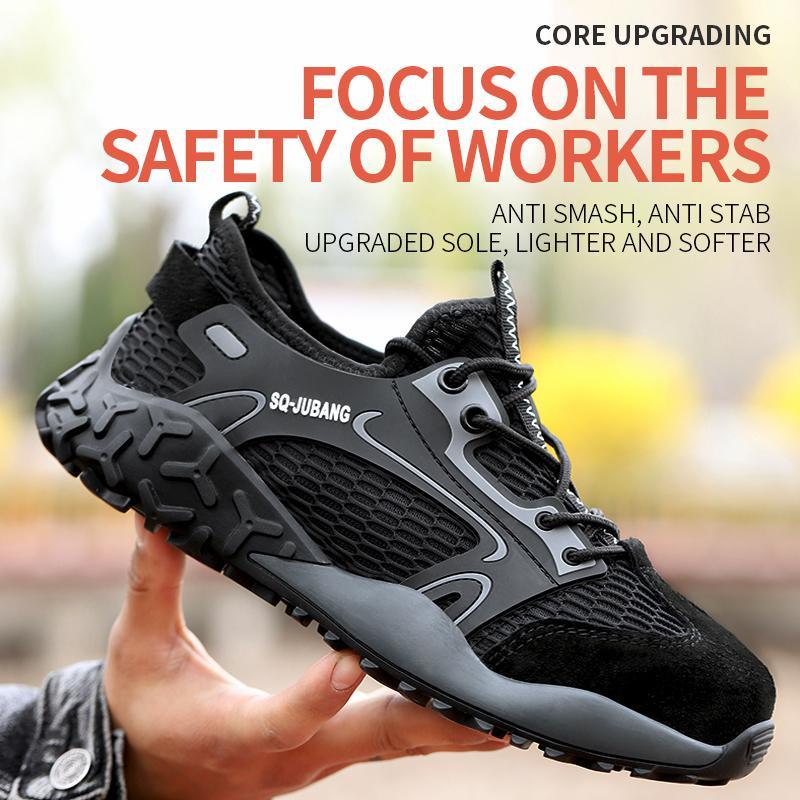 Anti-Smash,Anti-Stab,Upgraded Sole,Safety Shoes 999