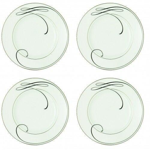 Waterford Ballet Ribbon Bread and Butter Plate 6 inch - 4 Plates new with tag