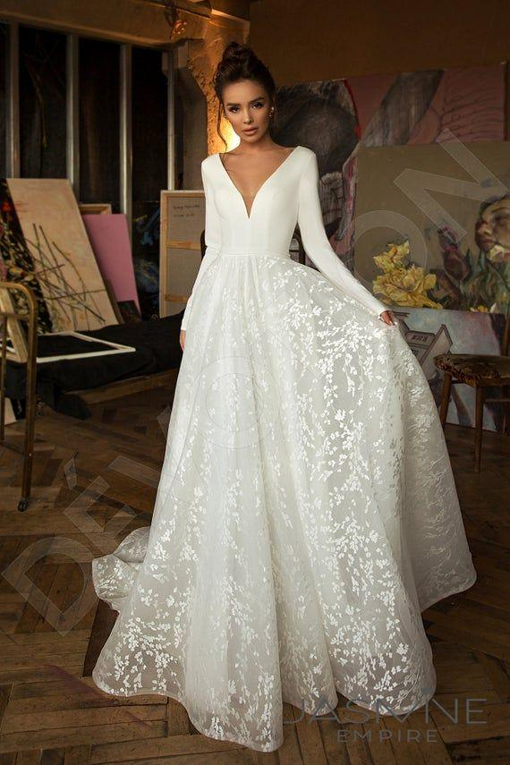 Fashion And Beautiful Plain Wedding Dresses For Girl Mylovecloth